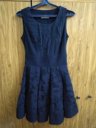 шуба до колени в Кыргызстан: Красивая платюшка до колен. темно синего цвета. размер 44. произ-во