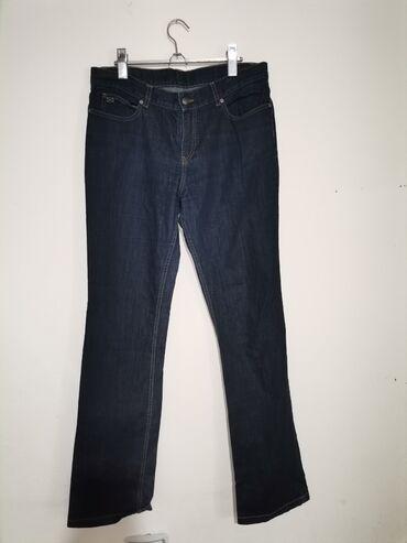 Pink jeans farmerke - Srbija: Nove ne nosene markirane farmerice Broj Naznacen 32 ali vodite se mera