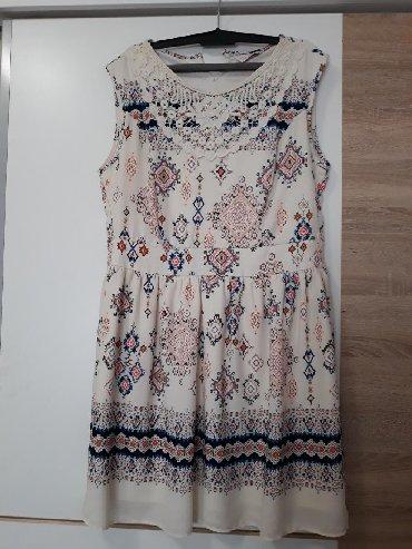 Haljina st - Srbija: Haljina sa sarenim printom, perfektno stanje, naznacena velicina 40