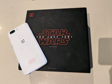 NEW-ONEPLUS-5T-A5010-128GB-DUAL-SIM-STAR-WARS-WHITE-FACTORY-UNLOCKED-4G-SIMFREE in Kirtipur