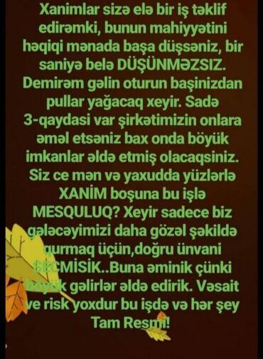 masaj birja - Azərbaycan: İş yalnız xanımlar üçündür.Daimi internet olmalıdır. Rəsmidir. Artan