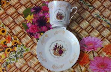 Чашки чайные 6 блюдец и 5 чашек в Bakı