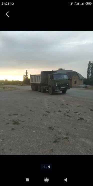 Купить камаз самосвал бу - Кыргызстан: КамАЗ тонар