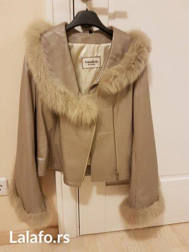 Kozna jakna nova,lamb skin - Novi Banovci