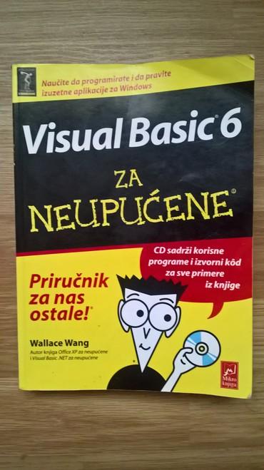 Visual Basic 6 za neupućene - knjiga je u perfektnom stanju. Napomena