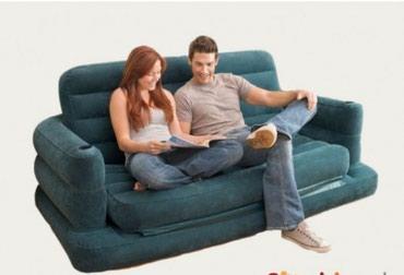 Xırdalan şəhərində Hava ilə dolma həm divan həmdə döşək 1.93×2.31×71 cm əlavə