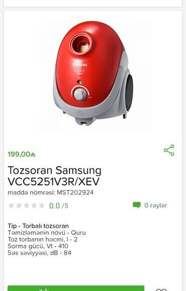 Tozsoran SamsungTam zəmanətləNəğd və 1 kartla ödənişEvdən birbaşa