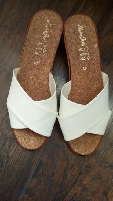 Papuče bele kao sneg Nove broj 40 - Kucevo