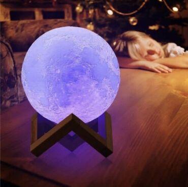 16 Rəngli 3D lampalar (pultla)