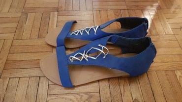 Ženska obuća   Sabac: Sandale obuvane 2-3 puta, broj 40