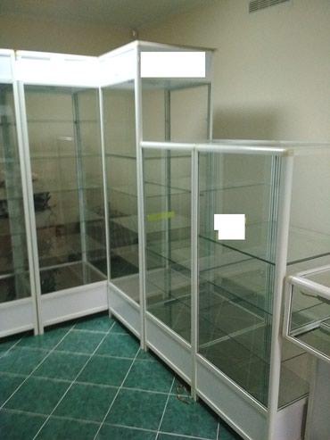 Продаю торговые витрины на Иссык-Куле только комплектом. И сейф