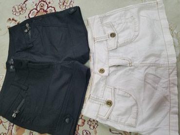 Продаю шорты,размер 42 и юбку хлопок,размерXS по 200сом в Бишкек