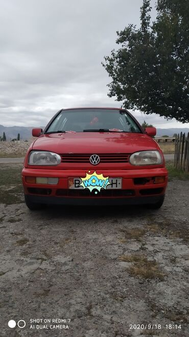 Автомобили - Кемин: Volkswagen Golf 1.8 л. 1993