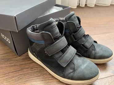 Детская обувь - Бишкек: Ботинки фирмы ECCO на мальчика демисезонные (осень-весна).Мембрана gor