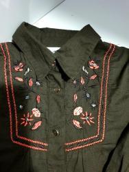 Ostala dečija odeća | Crvenka: Tom Tailor košulja za devojčice vel 116-122 (6-7 god).Poklon uz