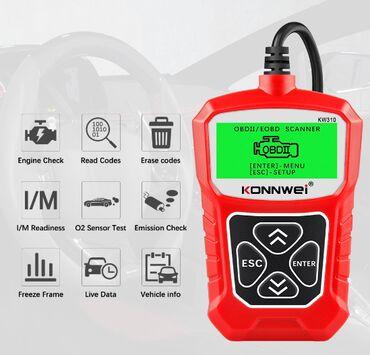 """Diaqnostika aparatı""""KONNWEI KW310"""" OBD2 Tarayıcı Auto OBD 2 Automotive"""