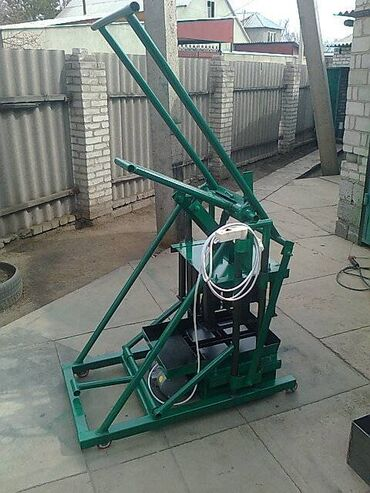 трубогиб бишкек in Кыргызстан | БАШКА ИНСТРУМЕНТТЕР: На заказ пескаблочный мини станок на 2 блока однофазный работает от