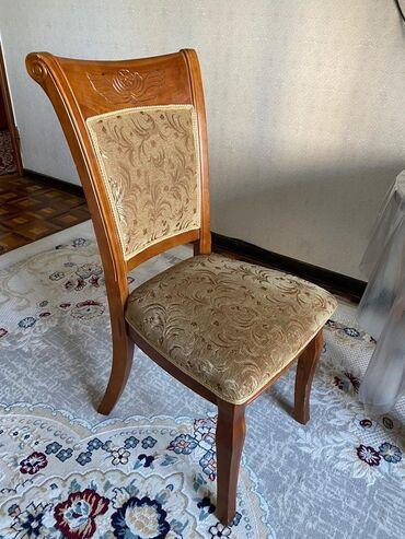 Продаётся стульчики шикарные из Дорогой материалы один шт цена 1450сом