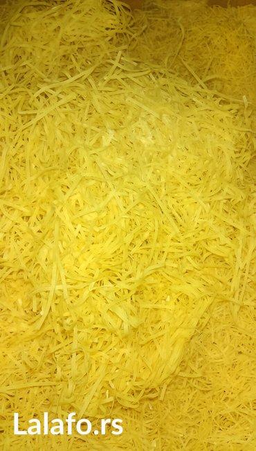 domaci rezanci za supu,svezi pravim po narudzbini slanje brzom postom - Smederevska Palanka