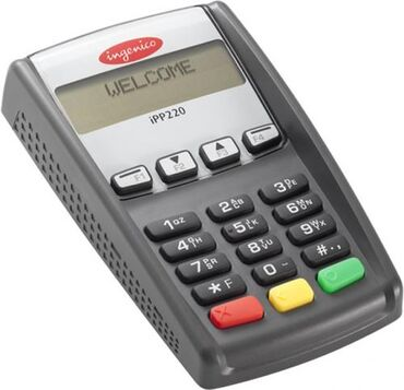 Спутниковые антенны - Кыргызстан: Пин-пад клавиатура Ingenico IPP 220Легкая выносная клавиатура или