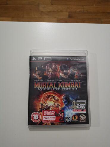 Ps3 igrice - Srbija: Mortal Kombat PS3 igrica!!!