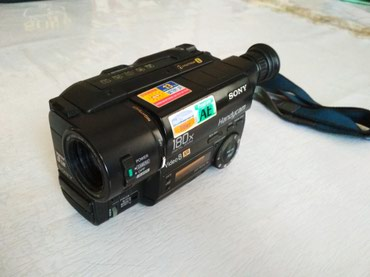 Продаётся камера Sony Handycam, Video 8 XR , 180x DIGITAL ZOOM в Novopokrovka