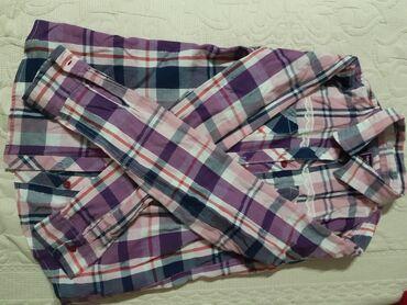 Benetton karirana suknjacm pamuk - Srbija: Malo korišćena karirana dečija košulja :)Veličina: 12-13 godina