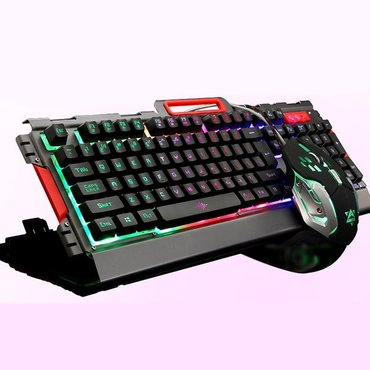Bakı şəhərində K33 model oyun ucun klaviatura ve muas desti. Gamer. Gaming. iqravoy.