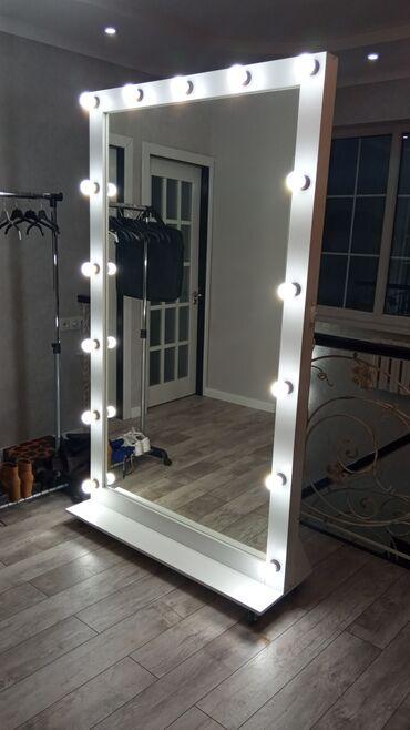 дом из сруба бишкек цена in Кыргызстан   ОТДЫХ НА ИССЫК-КУЛЕ: Зеркало с подсветкойПри выборе обратите внимание на качество