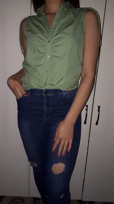 ESPRIT kosuljica bez rukava u nezno zelenoj boji velicine L - Kraljevo