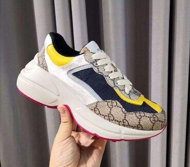 sapozhki 37 в Кыргызстан: Женские кроссовки Gucci  Высококачественная реплика 1:1  37 размер В н