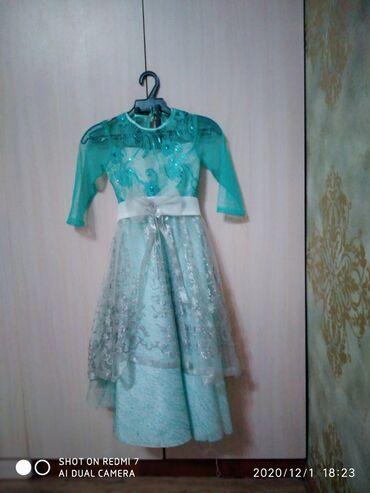 Платья - Цвет: Зеленый - Кок-Ой: Новогоднее платье