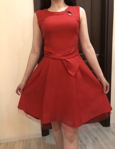 Платья - Красный - Бишкек: Платье Коктейльное L