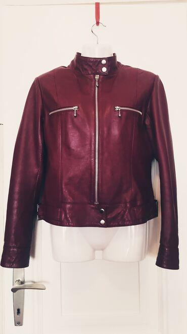 Fly e310 attitude - Srbija: Livelo Attitude kožna jakna. Jakna je još lepša uživo, tamno crvene