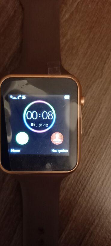 карты памяти apacer для навигатора в Кыргызстан: Продаю smart watch. Функции :разъём для sim-карты и флешки шагомер