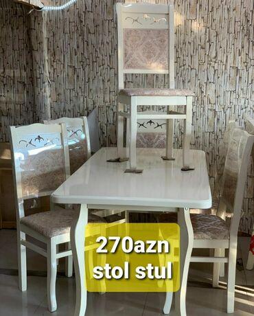 Cayxana ucun stol stul - Азербайджан: Stol stul desti 270azn
