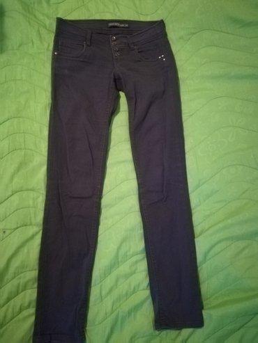 Terranova plavo - sive pantalone, vel XS. 98% cotone, 2% elastan - Sremska Kamenica