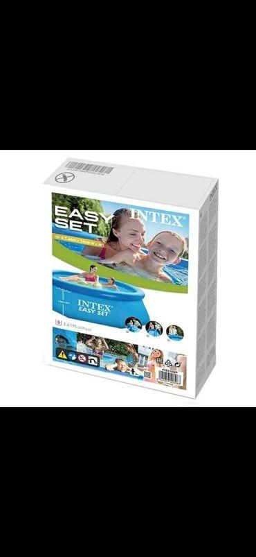 Pvc vrata - Srbija: Intex Bazen Easy Set 244 x 76cm (28110)Easy Set bazeni (ES) su