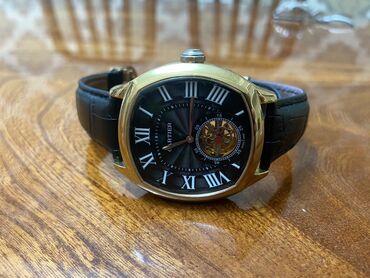 теплые мужские шарфы в Азербайджан: Золотистые Мужские Наручные часы Cartier