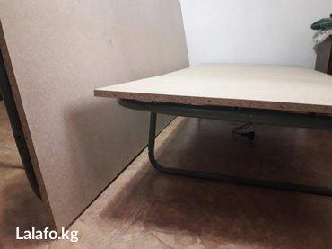Кровать-раскладушка двуспалка,можно поделить на две. цена 4000с в Бишкек