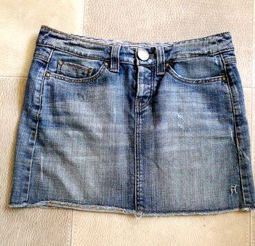 Teksas suknjica - Srbija: Prelepa teksas mini suknjica. 38