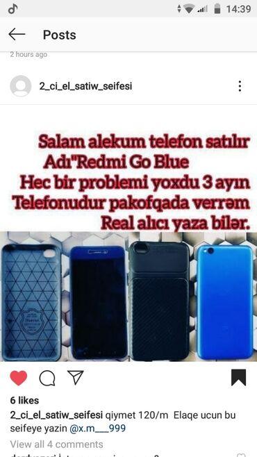 Б/у Xiaomi Redmi Go 16 ГБ Голубой