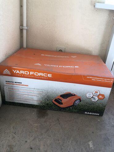 force инструменты в Кыргызстан: Продаю газонокосилку yard force SA600, новая запечатанная. Газонокосил