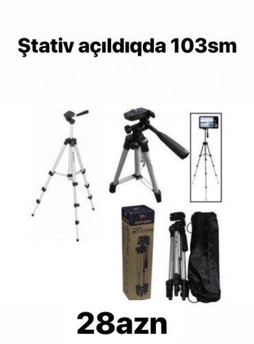 Bakı şəhərində Stativ fotoaparat videoaparat ucunCatdirilma 28may metrosu