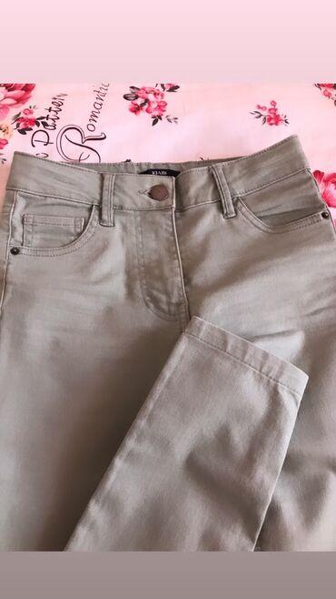 Светлые джинсы, на девочку или на очень стройную девушку) покупала в