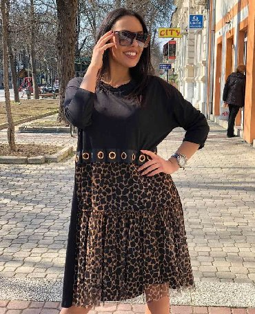 Pamucna haljina - Srbija: Fantasticna haljina  Pamucna, udobna  Univerzalna velicina- komotna