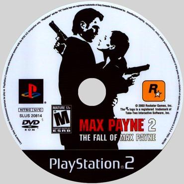 PS2 & PS1 (Sony PlayStation 2 & 1) Azərbaycanda: MaxPayne2.Ps2 üçün.Yenidir