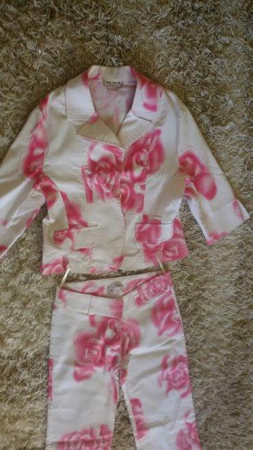 Sareni belo roze komplet - Nis