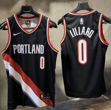 Спортивная форма - Бишкек: Баскетбольная джерси, Portland Blazers, Дамиан Лиллард. Новая, в