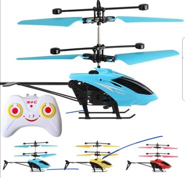 Infrared helihopter na daljinsko upravljanje plaviHelikopter za decu